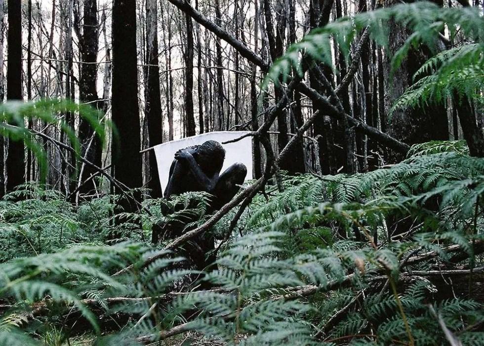 Portrait of Australian artist Kim Buck, by Ilona Nelson for This Wild Song