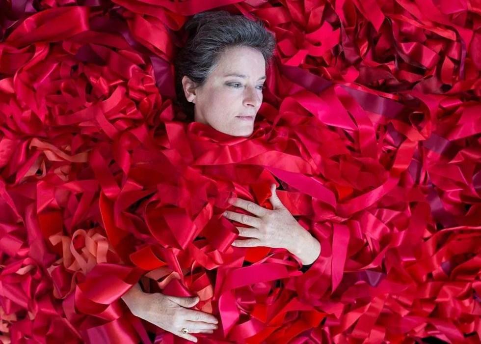 Portrait of Australian artist Megan Evans, by Ilona Nelson for This Wild Song