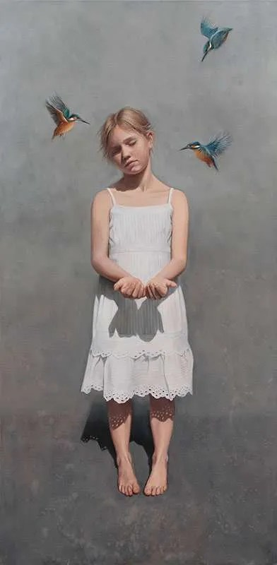 Erika Gofton, Edie, oil on linen