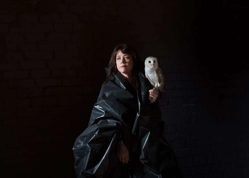 Portrait of Australian artist Erika Gofton, by Ilona Nelson for This Wild Song