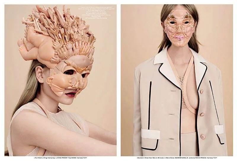 Freya Jobbins, TUSH magazine feature