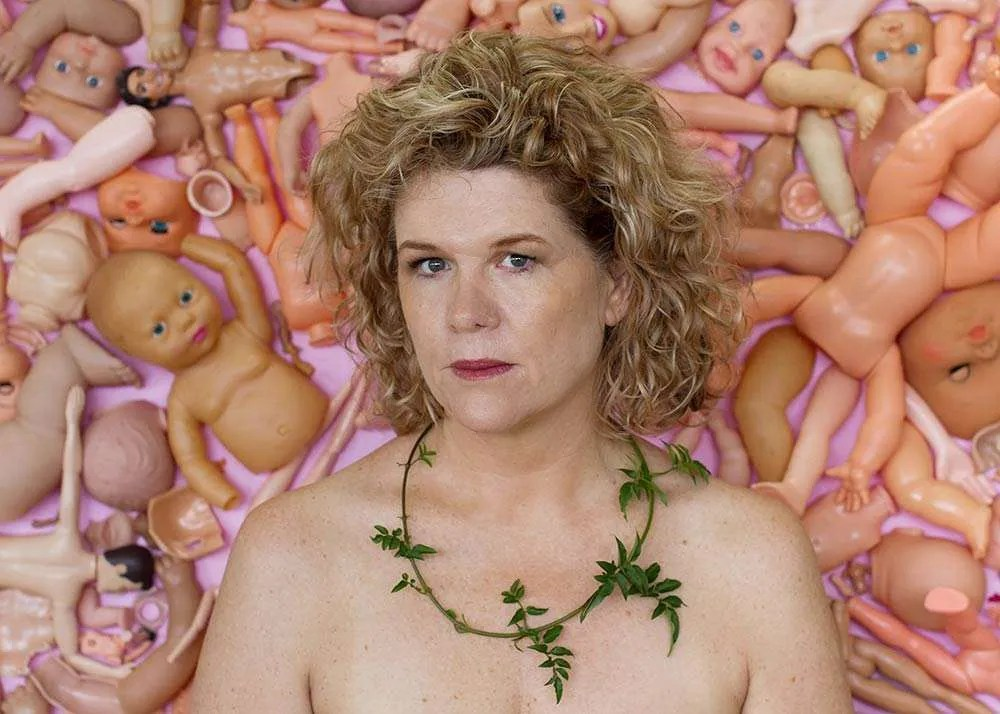 Portrait of Australian artist Freya Jobbins, by Ilona Nelson for This Wild Song