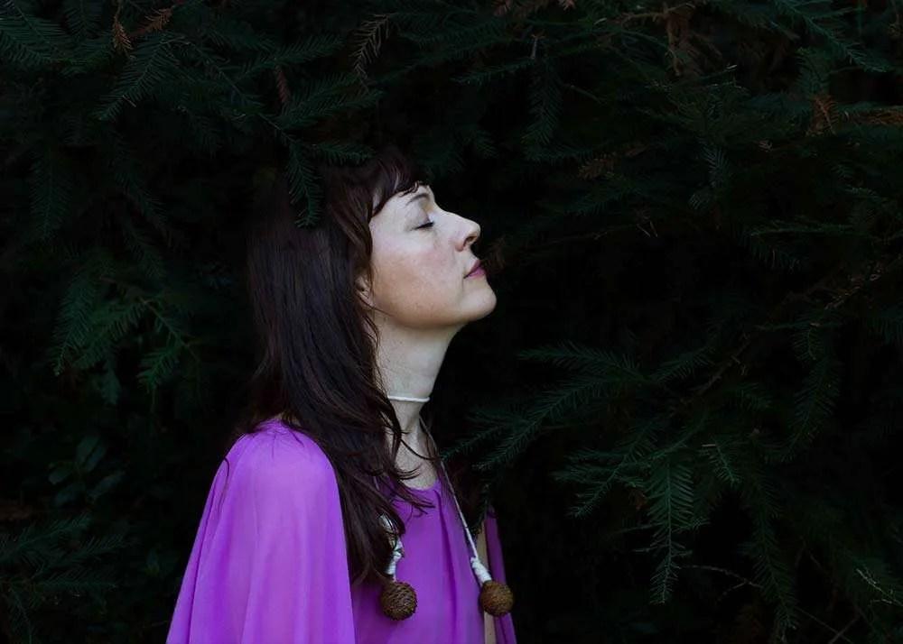 Portrait of Australian artist Wanda Gillespie, by Ilona Nelson for This Wild Song