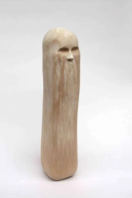 Wanda Gillespie, 'Spirit (lady)', 2014, woodcarving (Jelutong), white wash, 180 x 180 x 700mm
