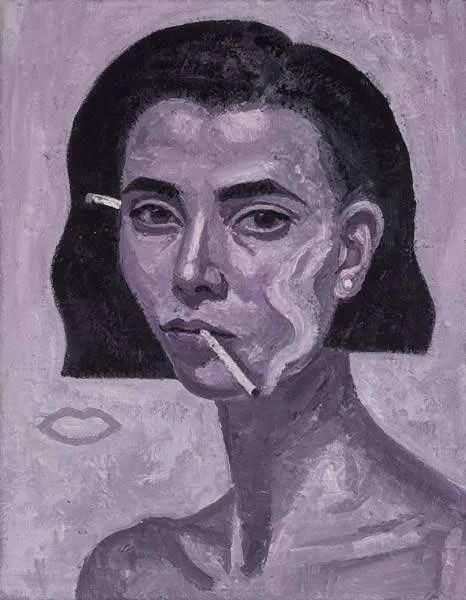 Yvette Coppersmith, Rose Burn Self Portrait.