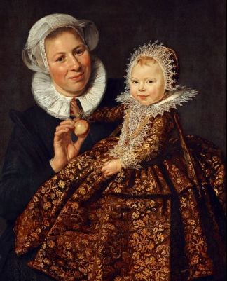 Catharina Hooft with her Nurse, Frans Hals, 1619 1620