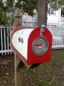 My favourite mailbox on Sullivan's Island (near Charleston, SC)