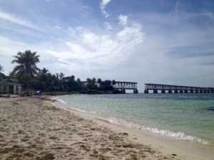 The beach at Bahia Honda