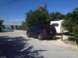 Our spot at Bahia Honda