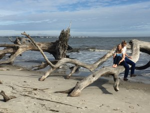 Driftwood Beach, Jekyll Island - where I said yes!