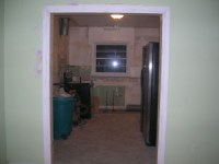 New Door to Kitchen