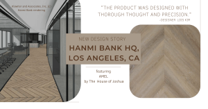 hanmi bank, the house of joshua, chevron lvt