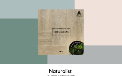 2021 Color Study #3 – Naturalist – THE HOUSE OF JOSHUA® N.02 Herringbone SPC Collection's AMEL