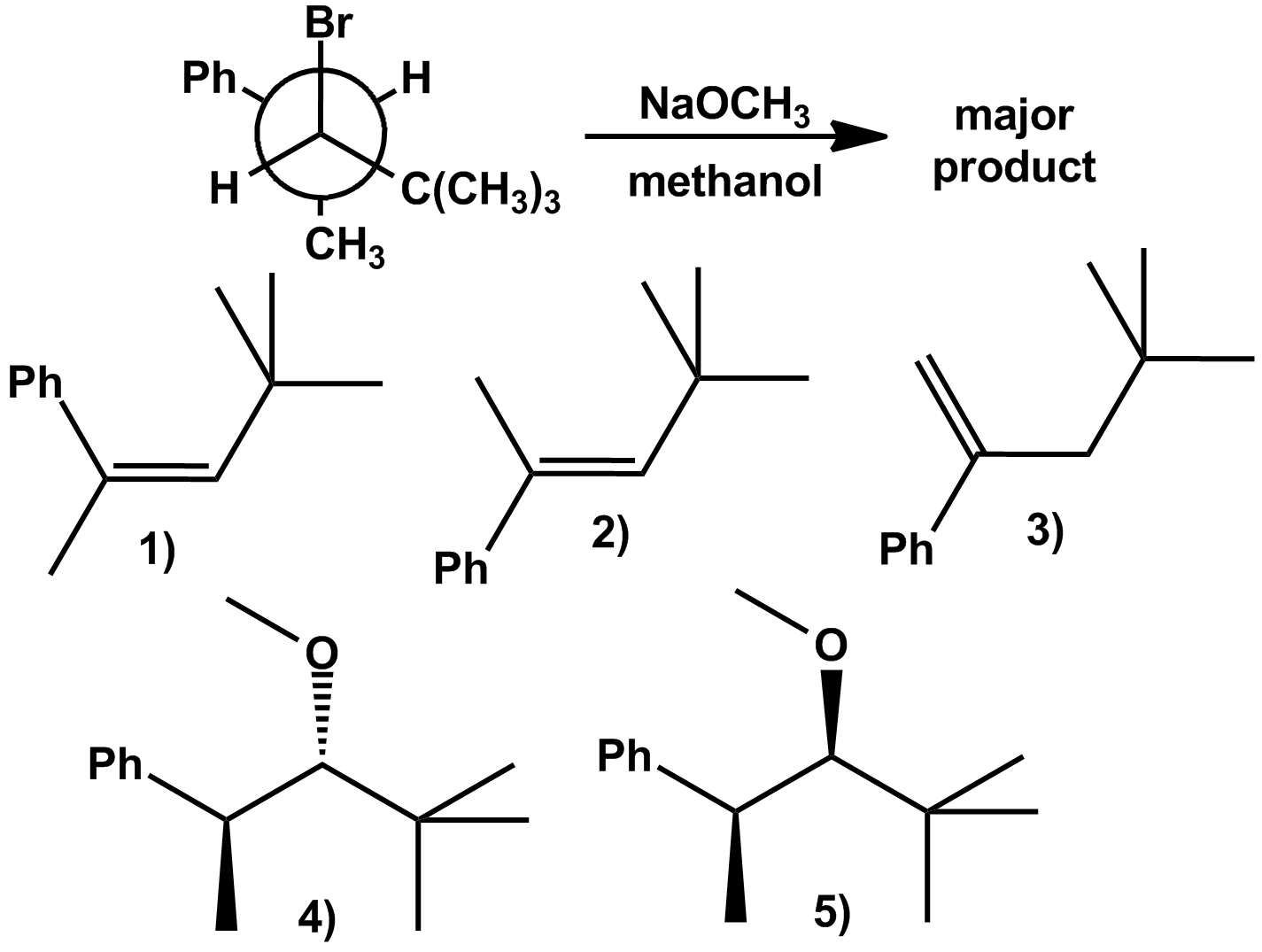 Solved Heating Tert Butyl Bromide In A Mixture Of Water A
