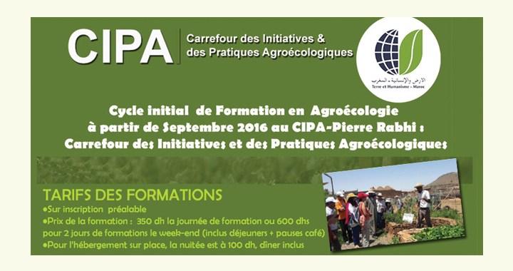 Cycle Initial de Formation en Agroécologie Septembre 2016 THM