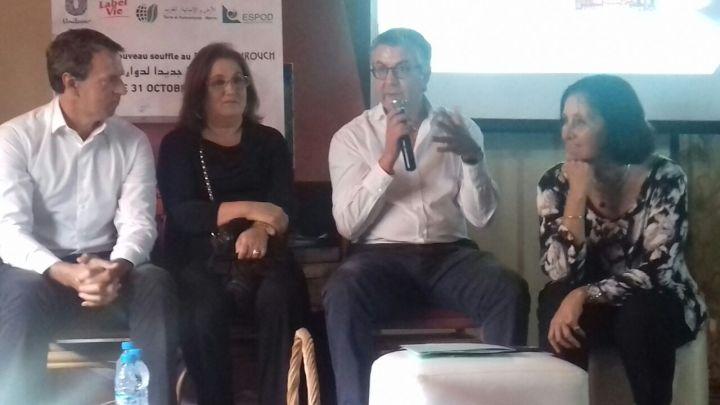 Terre et Humanisme Maroc en Actions Douars, vers un éco Douar, en partenariat avec l'associatif ESPOD et le secteur privé.