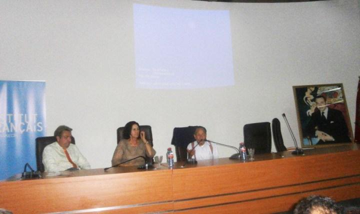 Rabat Conférence de presse Pierre Rabhi le 5 Novembre