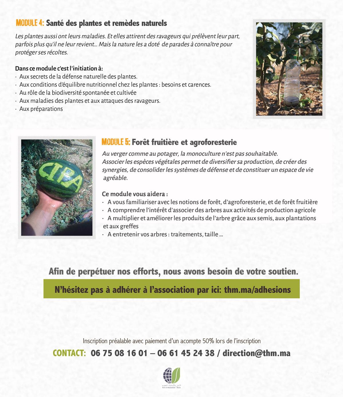Affiche Semaine Agroecologique au cipa pierre rabhi