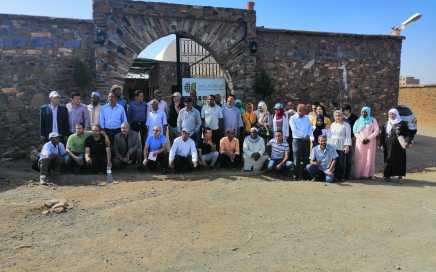 Visite de producteurs de dattes membres de coopératives au Cipa-Pierre Rabhi