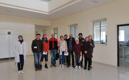 Visite de notre chargée de projets Meryem à l'Ecole Nationale d'Agronomie dans le cadre d'échange de compétences