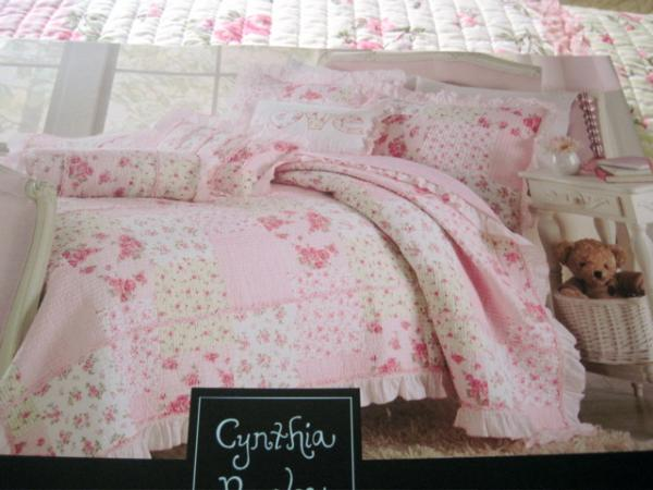 Pink Roses Amp Gingham Amp Stripes Cynthia Rowley Patchwork