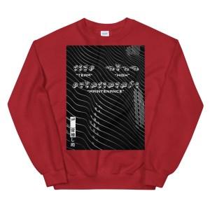 Sign language red sweatshirt