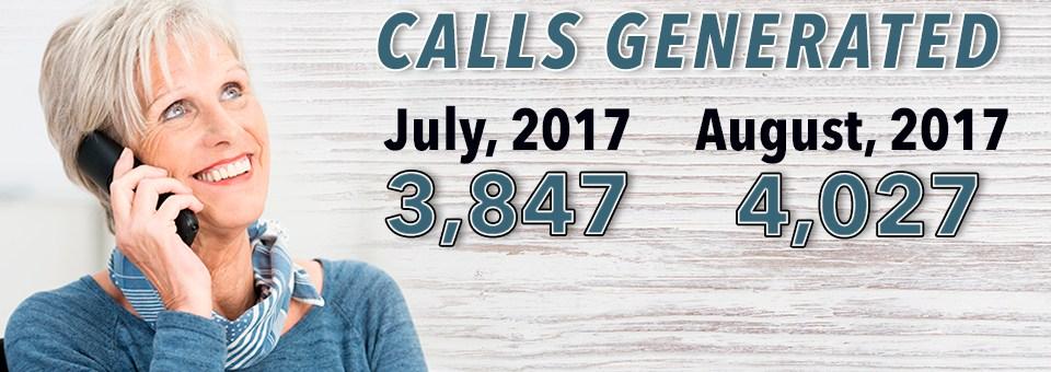 Slider 4 – Calls Generated