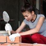 Thanh Hằng tập làm thợ xậy - Bài ca xây dựng