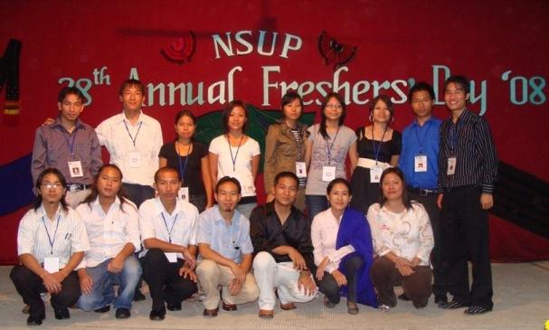 NSUP EXECUTIVES 2008-2009
