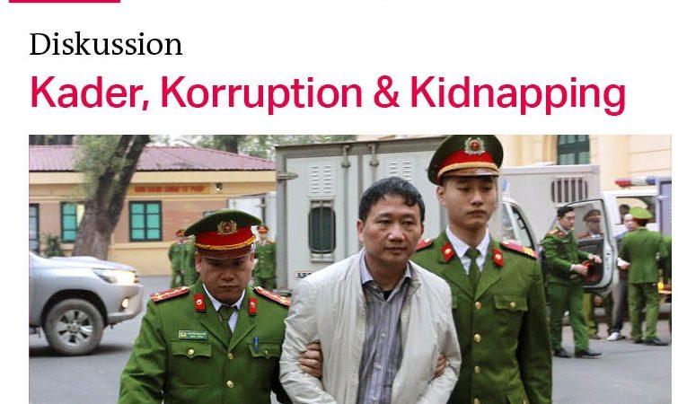 Mời tham dự buổi thảo luận tại Nhật báo TAZ ở Berlin thứ 4 ngày 23.5.2018: Hiện trạng quan hệ Đức-Việt sau vụ bắt cóc Trịnh Xuân Thanh
