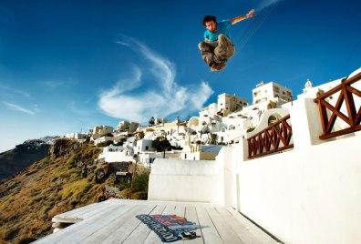 Red Bull - Santorini Parkour
