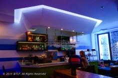 First floor - Bar scene