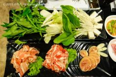 Kimchi Hot Pot - Meat and Veggies