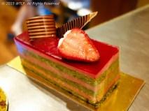 Strawberry Green Tea Cake