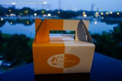 Cake Box of Nikko's Cake Shop