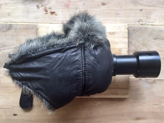 rélfex avec housse antibruit et moufle antibruit