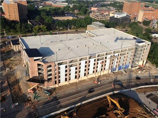 Thomarios Completed Akron Children's Hospital Parking Garage