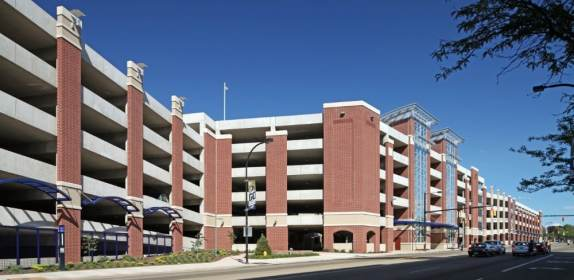 University of Akron – Exchange Street Parking Deck 2