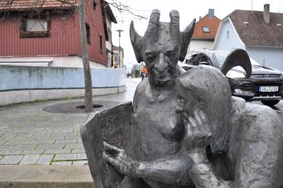 Fabeltierbrunnen in Renchen