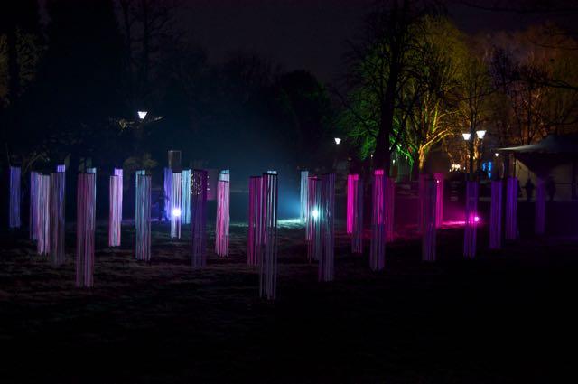 Mannheim - Winterlichter im Luisenpark