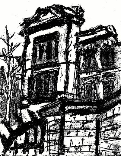 AQUA17-Neues Museum als Ruine