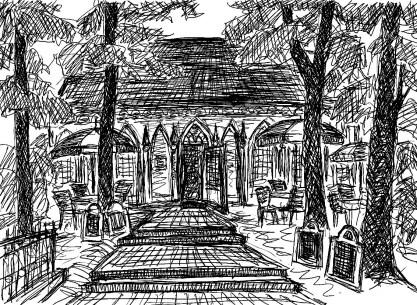 ArkadSk17 Paretz Gotisches Haus