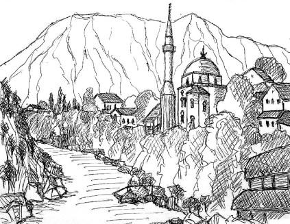 Balkan27-Herzegowina-Mostar I
