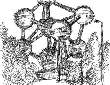 Belgien1-Bruessel Atomium