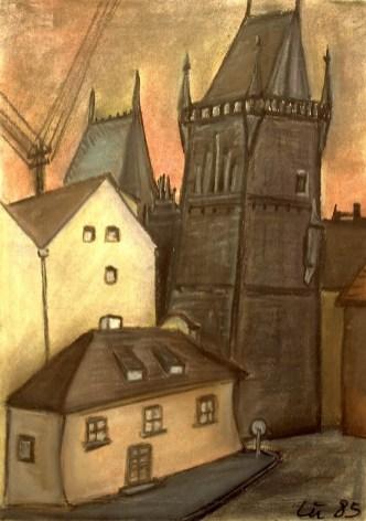 Boehmen9_Prag-Kleinseitner Brueckentuerme