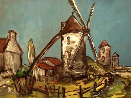 Bretagne14_Windmuehlen von Cherroueux