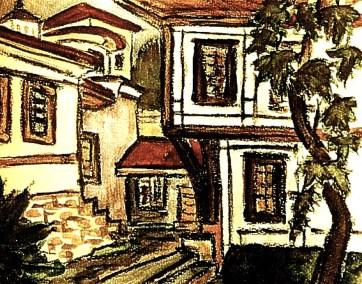 Bulgar10-Plovdiv-Altstadthof