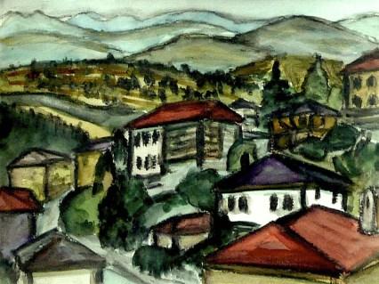 Bulgar17-Chvojna-Blick aufs Dorf