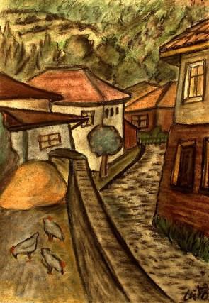 Bulgar37_Batchkovo-Kleine Gasse