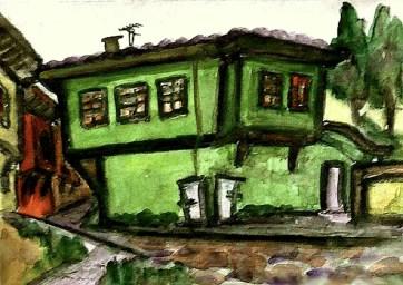 Bulgar6-Plovdiv-Gruenes Haus